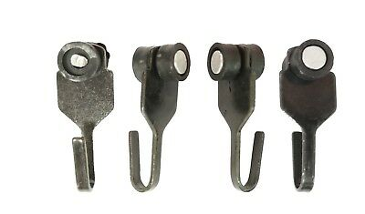 Steel Hooks With Wheels for Gazebo's Curtains and Mosquito Netting