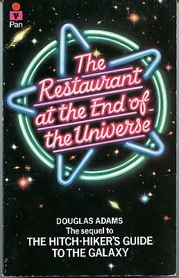 Douglas Adams, the restaurant at the End of the Universe