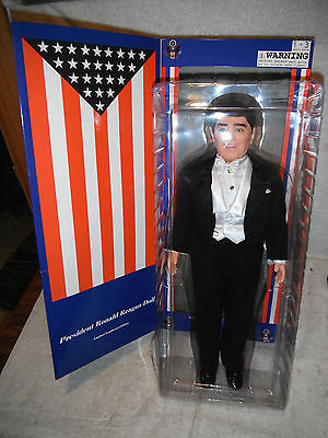 Mint 2000 President Ronald Reagan Limited Edition Doll Formal Attire By Horsman