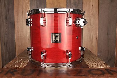 Sonor Force 3001 14 X 12 Tom Cherry Red