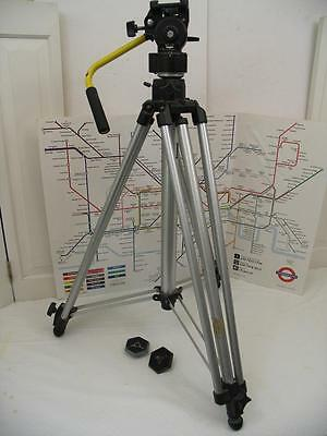 Bogen/Manfrotto 3046 Tripod with Bogen 3063 Head and 2 Quick Release Plates