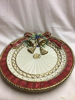 FITZ and Floyd- Bells and Bows Plate
