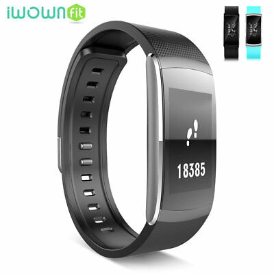 iWOWNfit i6 Pro Smart Watch Fitness Tracker Heart Rate Monitor Sports Wristband