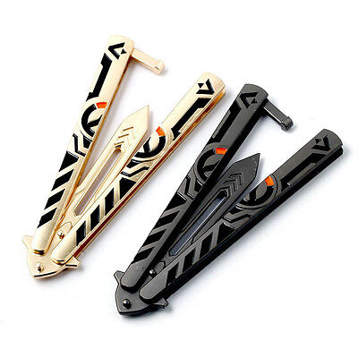 1PC Overwatch Butterfly Knife Training Tool Cosplay Weapon Model Collect