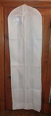 BRIDAL-DRESS STORE BAG-BREATHABLE TEXTILE-80 Inch L x 23 Inch W x 11.5 D £14.99