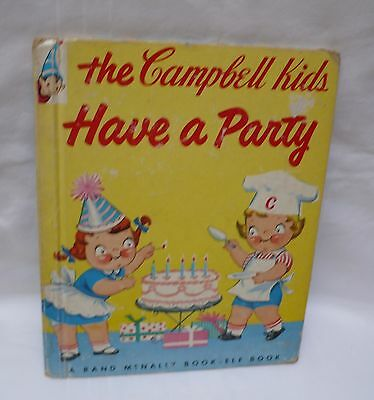 The Campbell Kids have a party