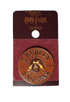 Wizarding World Of Harry Potter Pin Universal Studios Chudley Cannons Quidditch