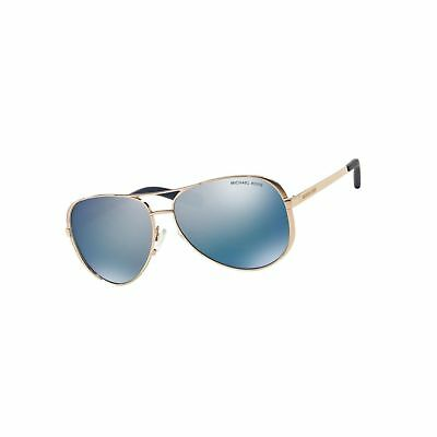Michael Kors Women's Chelsea Polarized Sunglasses Rose Gold Blue