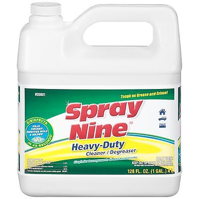 Spray Nine 26801 Heavy Duty Cleaner/Degreaser and Disinfectant - 1 Gallon (Pa...