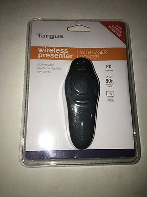 Targus Wireless Presenter with Laser Pointer for Windows, AMP16US