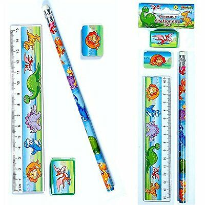 Dinosaur Stationery Sets (2 Supplied)