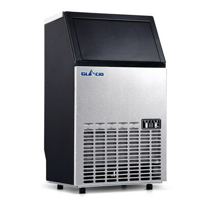 Japorms Stainless Steel Commercial Ice Maker IM-ZB45-COM