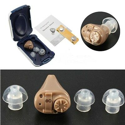 Hearing Aid, Adjustable Sound Amplifier