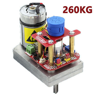 260kg.cm High Torque Servo The 3600 Degree Servo 12V~24V  Robot/Mechanical Arm