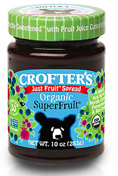 Crofters Just Fruit Spread Organic Superfruit - 283g