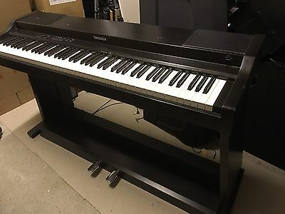 technics pcm digital piano px6 electric full size keyboard picclick uk. Black Bedroom Furniture Sets. Home Design Ideas
