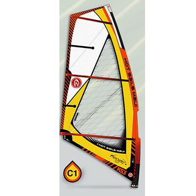 New HOT SAILS MAUI KS3 2015 Windusrfing 3 Batten Wave Sail 4.3m
