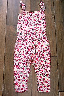 PRIMARK girls floral playsuit jumpsuit, 5-6 years, OTHER ITEMS