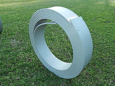 "NEW Moblo 6"" Flexi-FORM Plastic Concrete Bendable Flatwork Curve  -50' Roll"