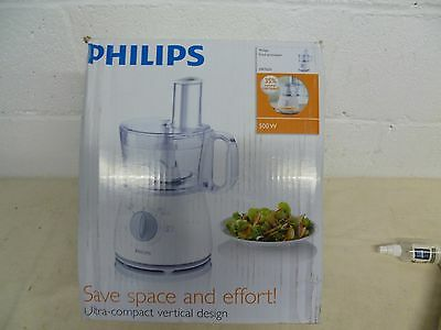 Philips HR7620/70 Food Processor 500w With 2 Speed Settings + Pulse FREE P&P