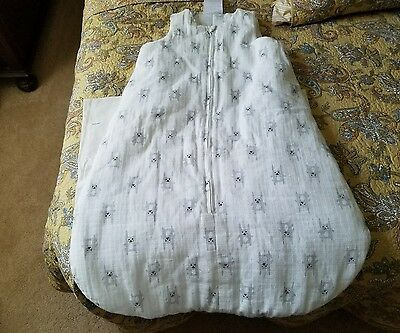 Aden Anais Wearable Blanket Sleeping Bag Large 12-18 Months Rabbits