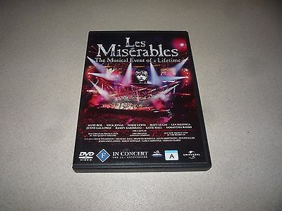 Les Miserable : The Musical Event Of A Lifetime  - (Dvd,2010)