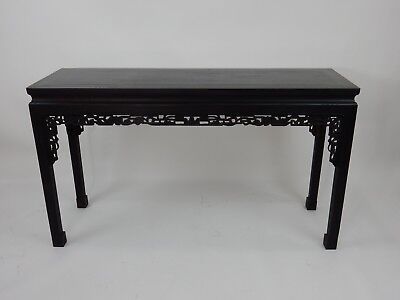 Gorgeous Chinese Hand made Zitan Wood Painting table 55 inches.
