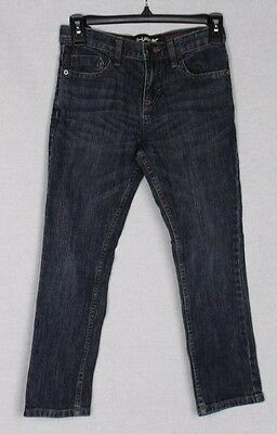 Tony Hawk Boys Denim Jean Skinny Slouch Dark Wash Stretch Pants Size 8