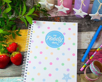 My Foody Diary: Weight Watchers food diary (12 months), food planner, diet diary