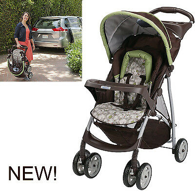 Graco Infant Baby Toddler Stroller Car Seat Lightweight Travel System Single New