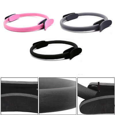 Dual Grip Pilates Ring Magic Circle Muscle Body Sport Exercise Yoga Fitness 36cm