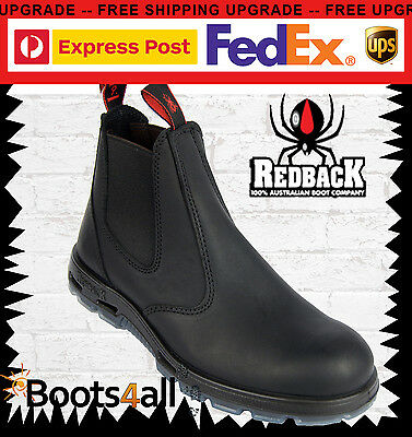 Redback Work Station Boots Black Non Steel Toe Easy Escape UBBK UK SIZE