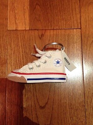 Converse White Key Chain Authentic Brand New With Tag Keychain Rare