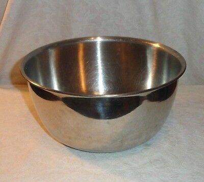 Vintage Vollrath 6923 Stainless Steel Ware 4 Quart Mixing Bowl
