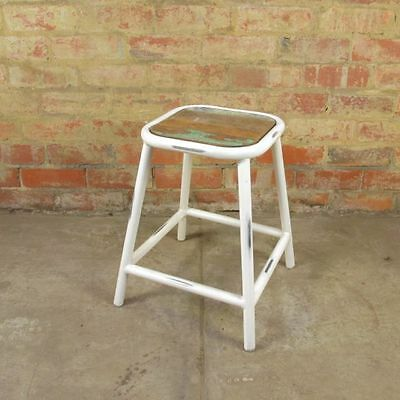 Commercial Grade Low Stools - Industrial Style