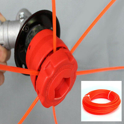 Tough Nylon Cord 10mx2.4mm Strimmer Grass Trimmer Part Spool Line Wire Durable