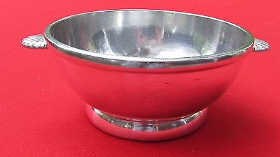 1930 Southern Pacific Railroad Porridge Bowl By Reed & Barton Silver Plated