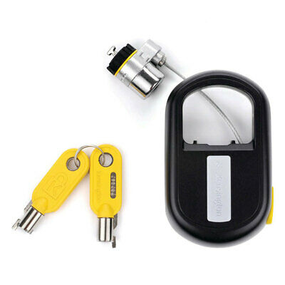 Kensington MicroSaver Retractable Keyed Laptop Lock/Security/Anti-theft/1.2m