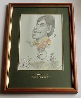 Fred Couples Limited Edition Golf Print by Tony Rafty
