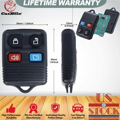 2PC Keyless Entry Remote Control Key Fob for 2001-2009 Ford Explorer Sport Track