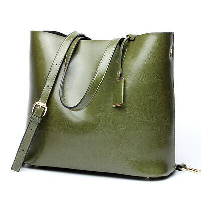 Womens Shoulder Bag Genuine Leather  Cowhide Handbags Real leather