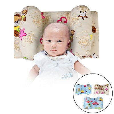 Baby Pillow Newborn Infant Thermoactive Anti Flat Head Syndrom for Crib Cot Bed