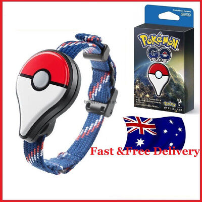 NEW Pokemon GO Plus Bracelet with Clip Bluetooth Wristband Accessory Game Device
