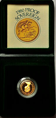 1980 Proof  Sovereign  *1087