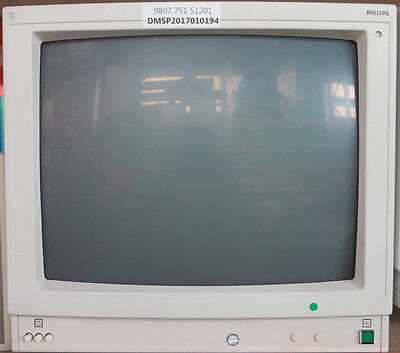 Philips Crt Monitor Pn: 9807 751 51201 For Bv-25 C-Arm