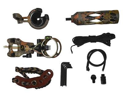 Archery Upgrade Compound Bow Hunting  Kit Bow Sight Stabilizer Arrow Rest Sling