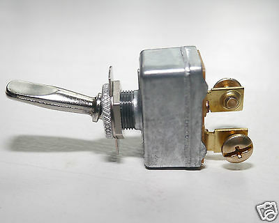 HEAVY DUTY Toggle Switch -  On-Off   - #8671  Pollak 50 amp @12V Decorator Handl