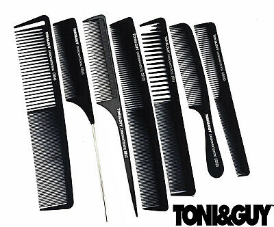 Salon Professional Hairdressing Carbon Antistatic Cutting Comb - Toni & Guy