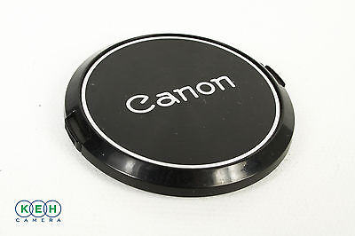Genuine Canon 55mm C-55 Front Lens Cap (Black and Silver)