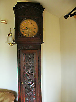 Grandfather clock 17th Century oak